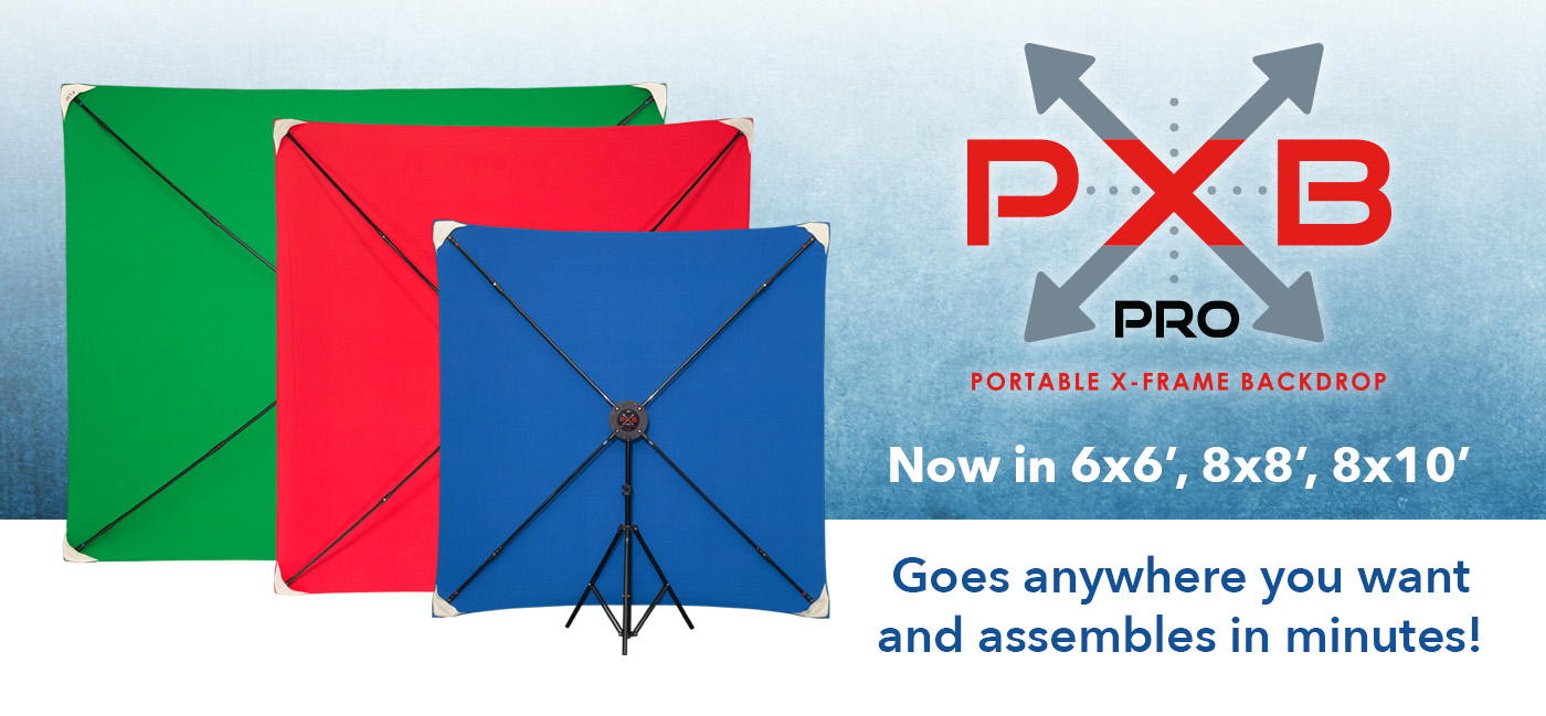 PXB Pro Portable X-Frame Background Systems